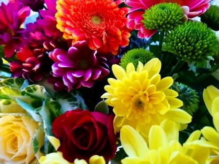 Flowers to brighten my week.